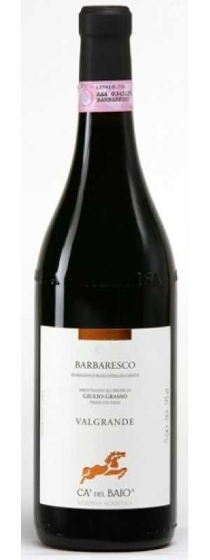 Barbaresco DOCG Vallegrande, Ca' del Baio 75cl